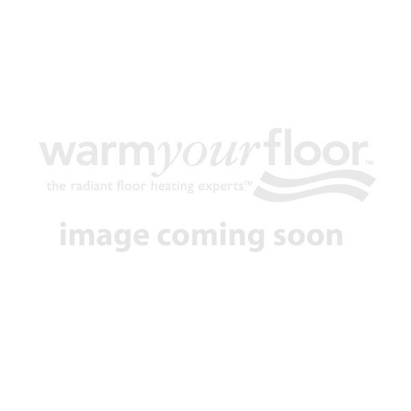 Schluter DITRA-HEAT-DUO Kit with 21 sq ft Cable, 34 sq ft INSULATED Membrane, Touchscreen Programmable Thermostat (120V)