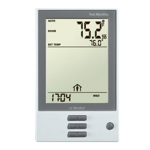 QuietWarmth Programmable Push-Button Thermostat (Universal)