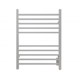 Amba RSWH-B Radiant Square 10 Bar Towel Warmer Brushed SS Hardwired
