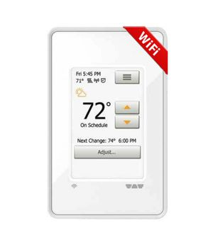 Ditra Heat Wifi Touch Thermostat Touchscreen Programmable