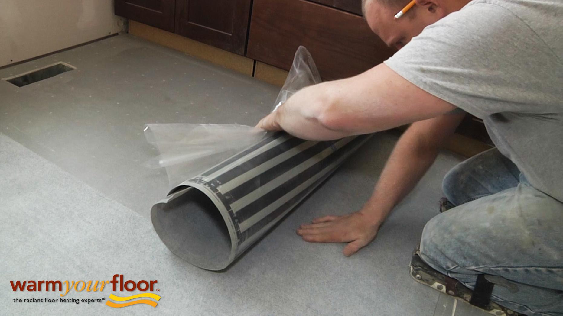 Quietwarmth Peel Amp Stick For Tile Amp Glue Down Floors 1 5