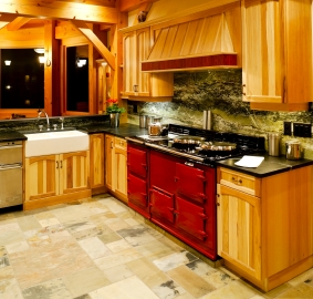 heated kitchen floors